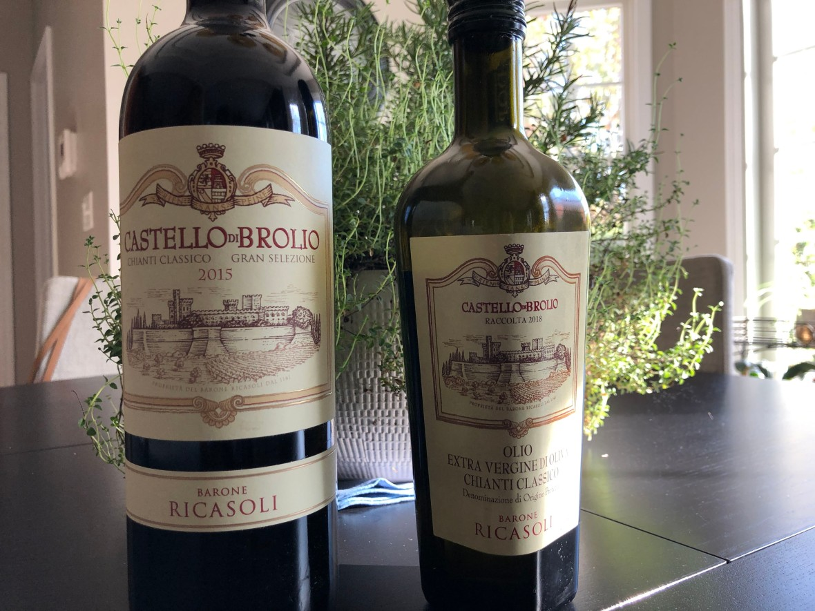 Italian olive oil, Tuscan olive oil, wine pairing