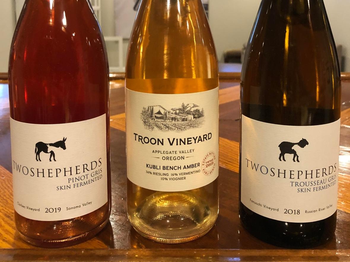 orange wines, skin fermented wines, #winePW