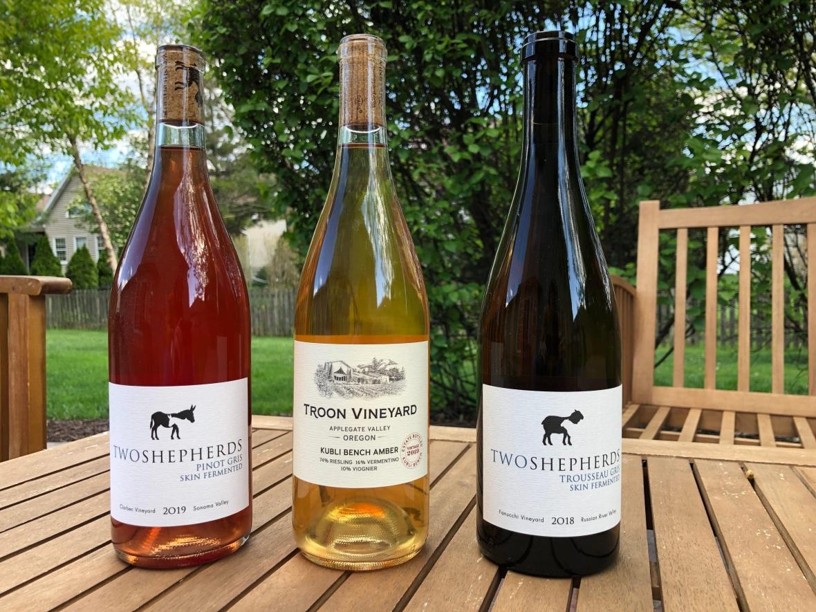 orange wine, skin fermented wine, california wine, oregon wine